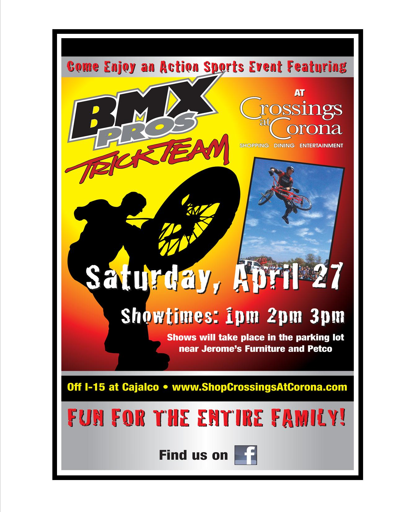Shows At 1pm, 2pm, And 3pm In The Jeromeu0027s Parking Lot In The Crossing At  Corona Shopping Center.