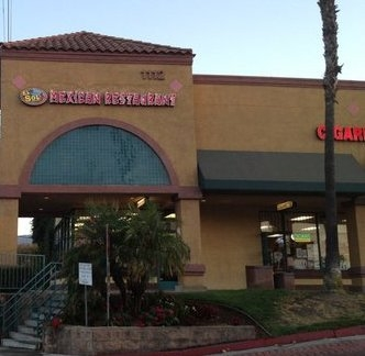 Online Menu For El Sol Mexican Restaurant In Corona